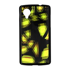 Yellow light Nexus 5 Case (Black)
