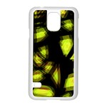 Yellow light Samsung Galaxy S5 Case (White) Front