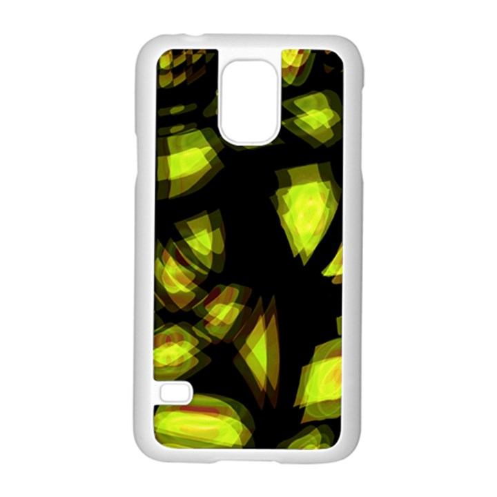 Yellow light Samsung Galaxy S5 Case (White)