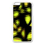 Yellow light Apple iPhone 6 Plus/6S Plus Enamel White Case Front