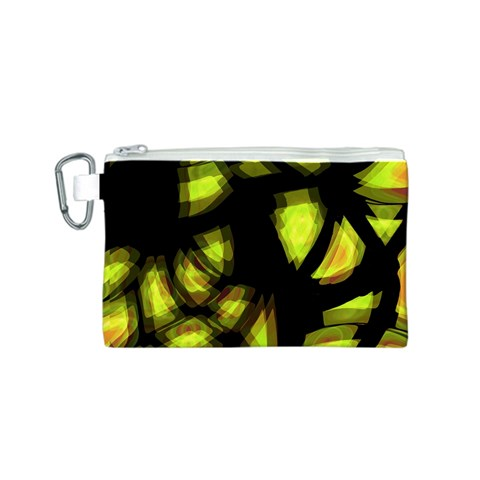 Yellow light Canvas Cosmetic Bag (S)