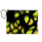 Yellow light Canvas Cosmetic Bag (XL) Front
