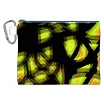 Yellow light Canvas Cosmetic Bag (XXL) Front