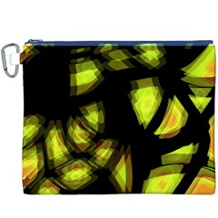 Yellow Light Canvas Cosmetic Bag (xxxl)