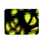 Yellow light Double Sided Flano Blanket (Mini)  35 x27 Blanket Front