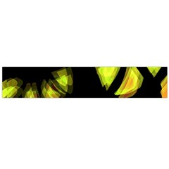 Yellow light Flano Scarf (Large)