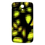 Yellow light Samsung Galaxy Mega I9200 Hardshell Back Case Front