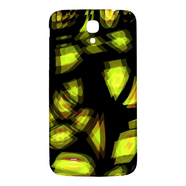 Yellow light Samsung Galaxy Mega I9200 Hardshell Back Case