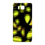 Yellow light Samsung Galaxy Alpha Hardshell Back Case Front