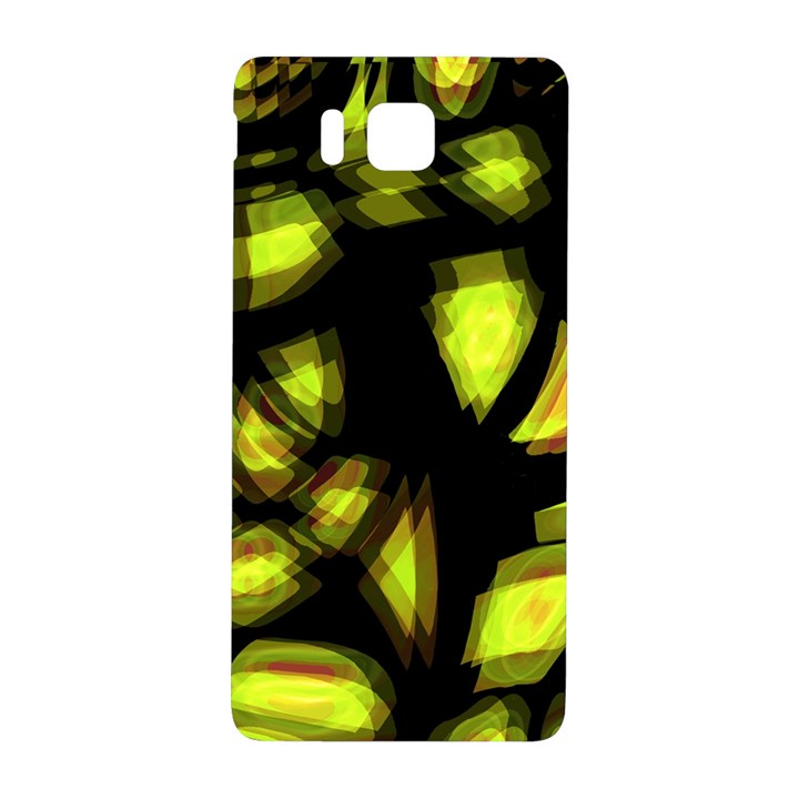 Yellow light Samsung Galaxy Alpha Hardshell Back Case