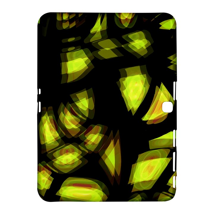 Yellow light Samsung Galaxy Tab 4 (10.1 ) Hardshell Case