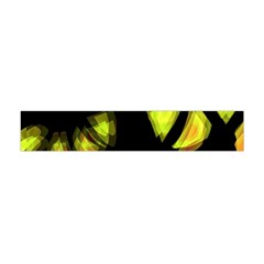 Yellow light Flano Scarf (Mini)