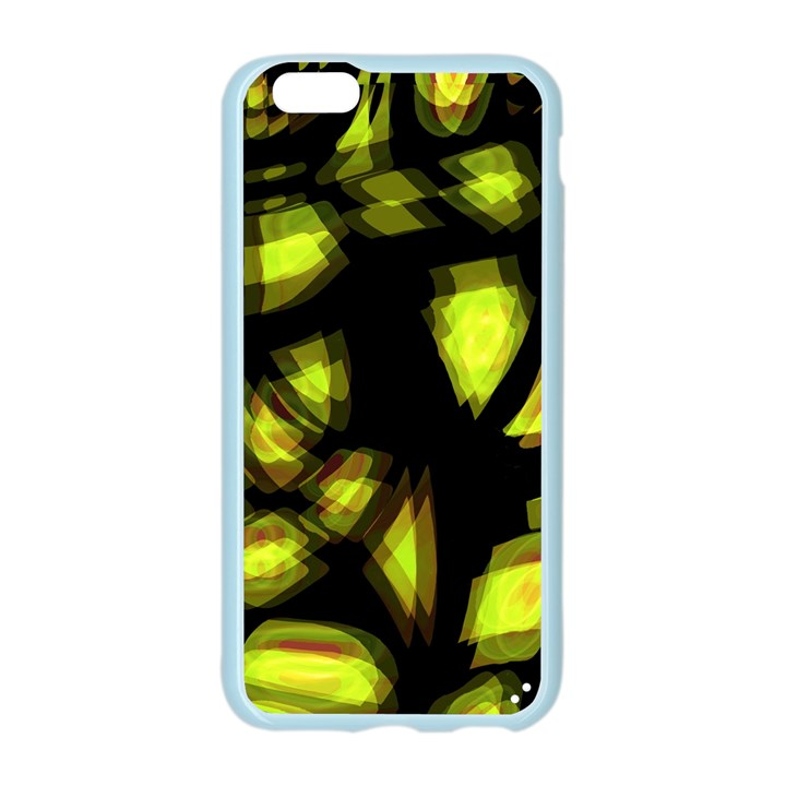 Yellow light Apple Seamless iPhone 6/6S Case (Color)