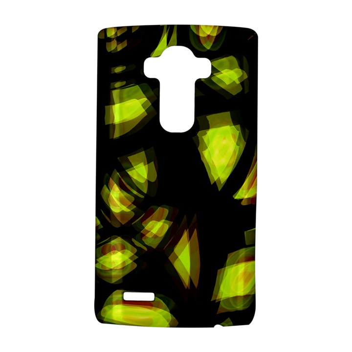 Yellow light LG G4 Hardshell Case