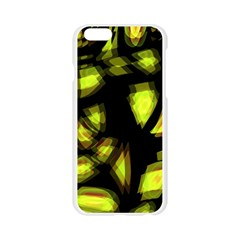 Yellow light Apple Seamless iPhone 6/6S Case (Transparent)