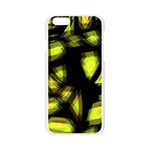Yellow light Apple Seamless iPhone 6/6S Case (Transparent) Front
