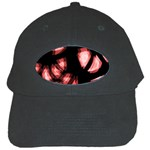 Red light Black Cap Front