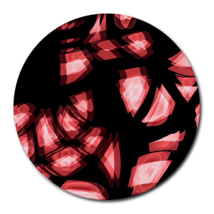Red light Round Mousepads