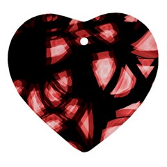 Red light Ornament (Heart)