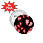 Red light 1.75  Buttons (10 pack) Front