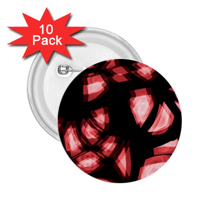 Red light 2.25  Buttons (10 pack)