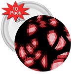 Red light 3  Buttons (10 pack)  Front