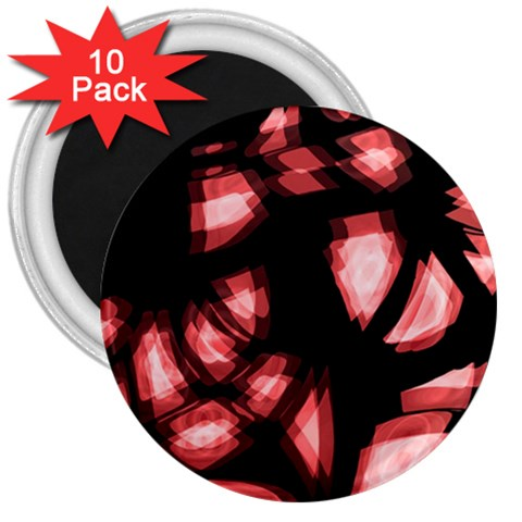 Red light 3  Magnets (10 pack)