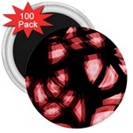 Red light 3  Magnets (100 pack) Front