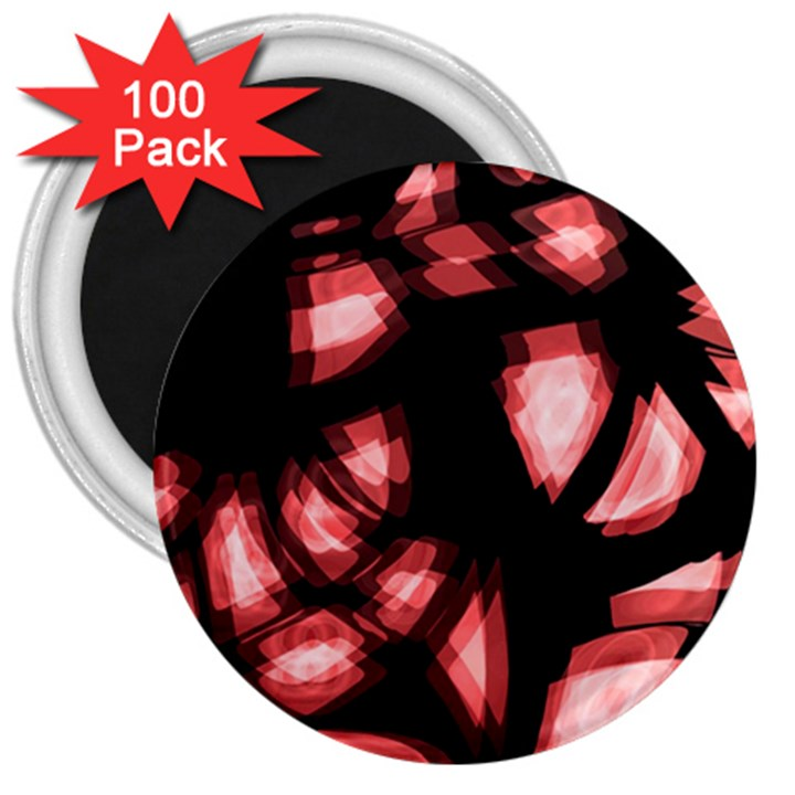 Red light 3  Magnets (100 pack)