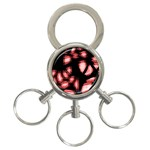 Red light 3-Ring Key Chains Front