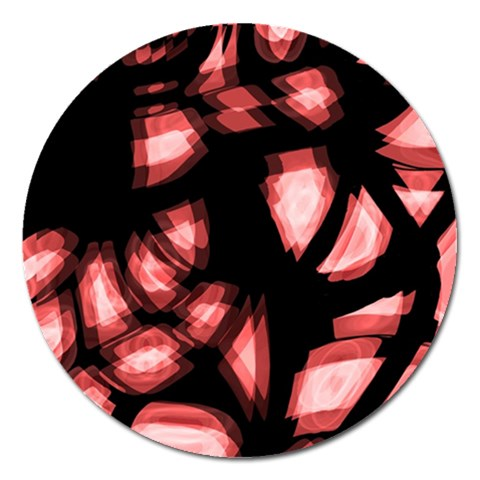 Red light Magnet 5  (Round)
