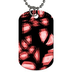 Red light Dog Tag (One Side)