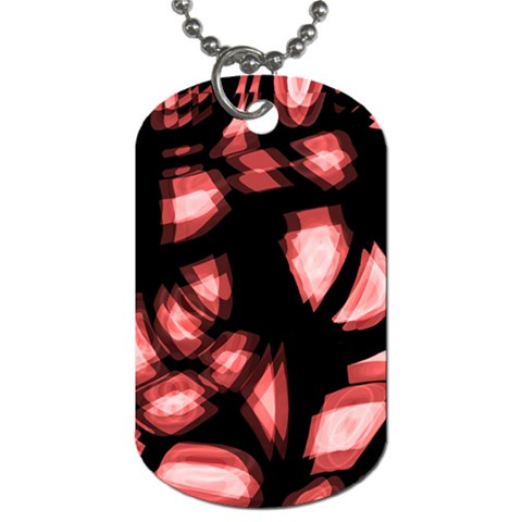 Red light Dog Tag (Two Sides)