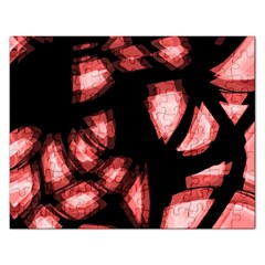 Red Light Rectangular Jigsaw Puzzl