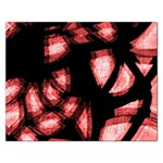 Red light Rectangular Jigsaw Puzzl Front