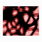 Red light Small Glasses Cloth Front