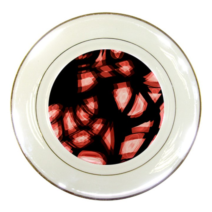 Red light Porcelain Plates