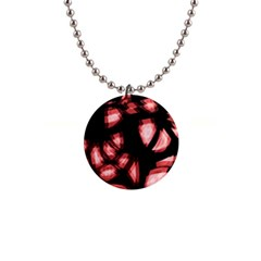 Red light Button Necklaces