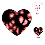 Red light Playing Cards (Heart)  Front