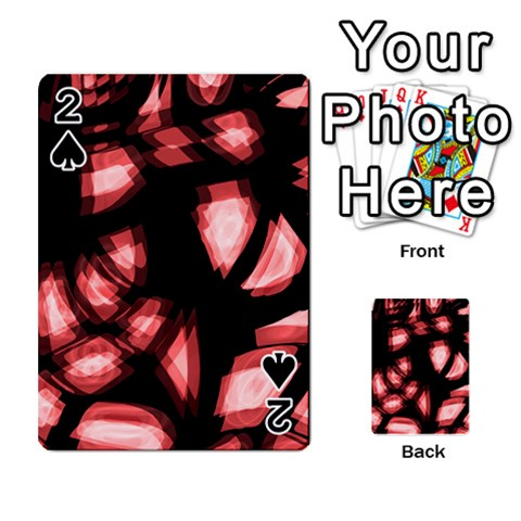 Red light Playing Cards 54 Designs