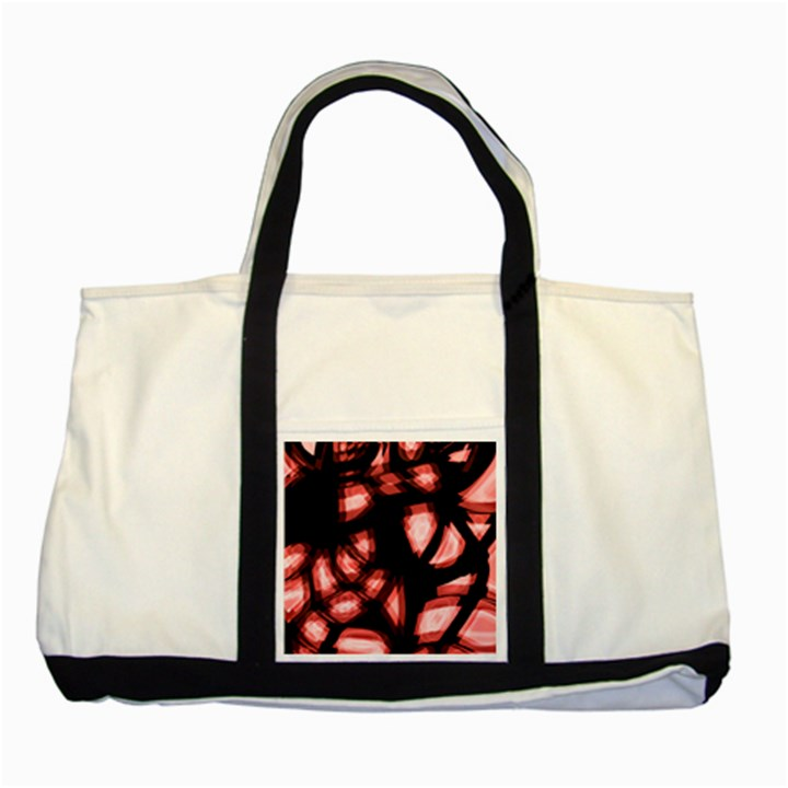 Red light Two Tone Tote Bag