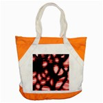 Red light Accent Tote Bag Front