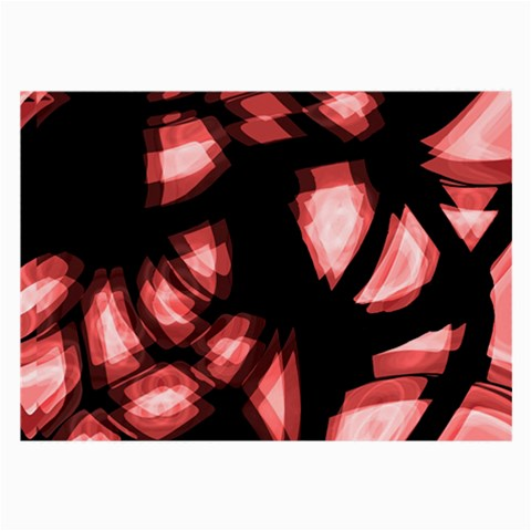 Red light Large Glasses Cloth