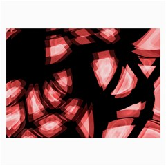 Red light Large Glasses Cloth (2-Side)