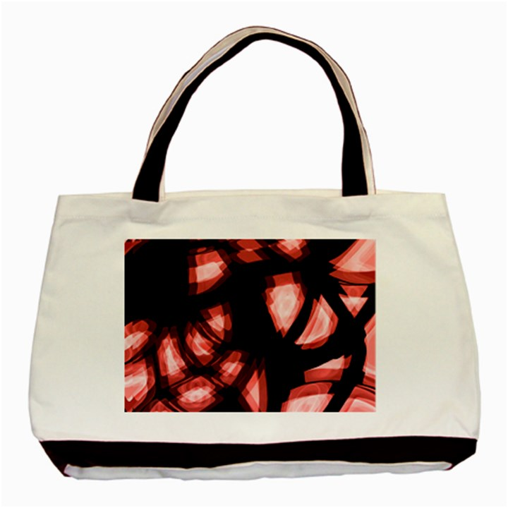 Red light Basic Tote Bag (Two Sides)