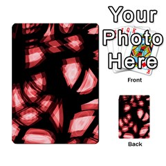 Red Light Multi Purpose Cards (rectangle)