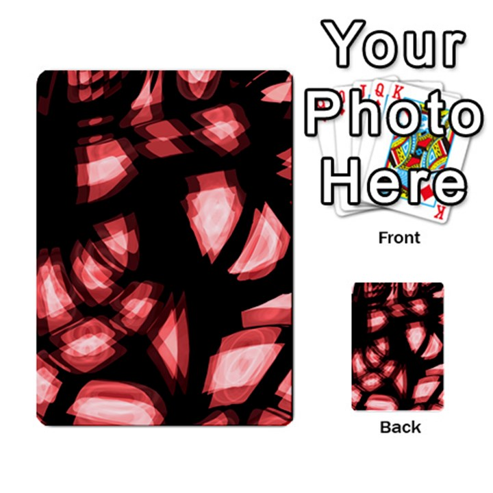 Red light Multi-purpose Cards (Rectangle)