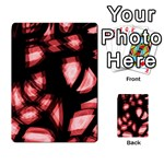 Red light Multi-purpose Cards (Rectangle)  Back 36