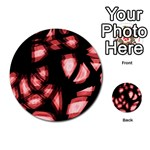 Red light Multi-purpose Cards (Round)  Back 33