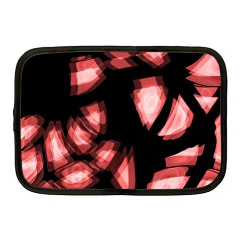 Red light Netbook Case (Medium)